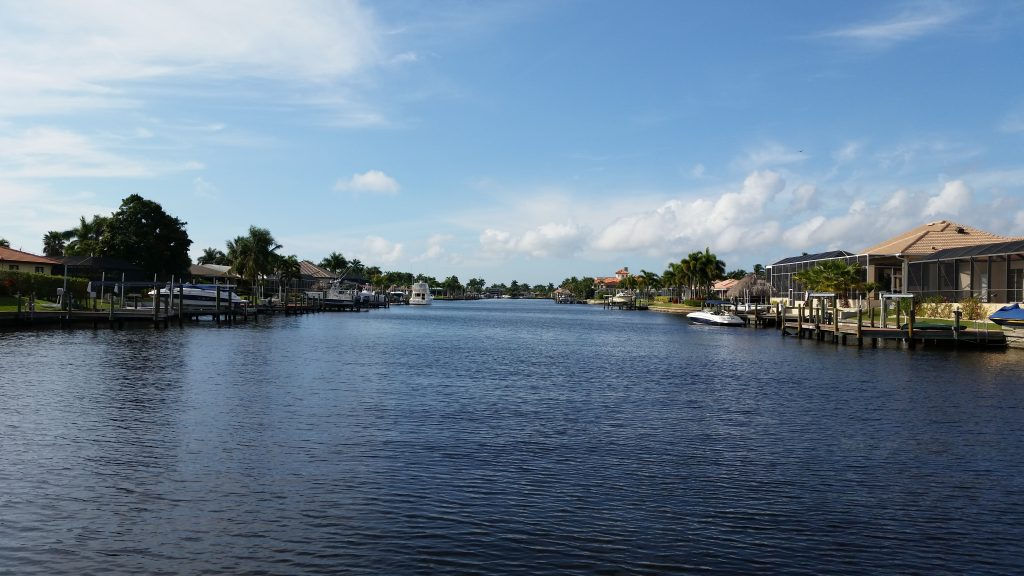Canal in Cape Coral