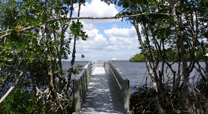 Four Mile Cove Ecological Preserve - Photo: www.capecoral.net